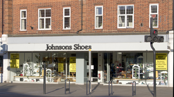 Johnsons Shoes in administration